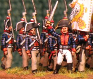 15mm, Napoleonic Prussian Garde Grenadier NR.6 (1806) AB 24 figures